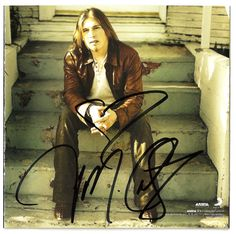 Jason Michael Carroll Autographed Getting Old CD Cover UACC RD