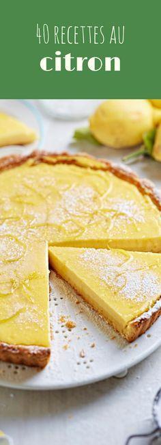 Tiramisu, cheesecake, tarte meringuée... 40 recettes faciles et gourmandes au citron ! #recettefacile #cuisine #cuisinefacile #idéerecette #citron #cheesecake #tartemeringuee