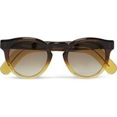 af0e20e553 Gradient Brown Amber Sunglasses by Cutler   Gross. Mens SunglassesRound  Frame ...