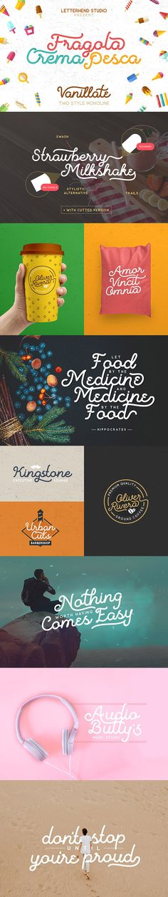 #Vanillate #Font Duo - Holiday Decorative Download here: https://graphicriver.net/item/vanillate-font-duo/19460107?ref=alena994