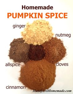 DIY Homemade Pumpkin Pie Spice Recipe