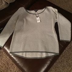 Express sweater New with tags Express 3/4 length sleeve top/sweater. Size small Express Tops Blouses