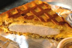Chicken and Waffle Grilled Cheese | Zagat Blog