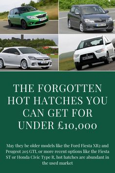 We're hot hatch lovers here and the best ones made are kept in high regard amongst UK drivers.  May they be older models like the Ford Fiesta XR2 and Peugeot 205 GTI, or more recent options like the Fiesta ST or Honda Civic Type R, hot hatches are abundant in the used market.   But sometimes, some efforts slip under the radar and aren't as popular as manufacturers would have expected. Here are some of the lesser-known hot hatchbacks that you can get for our £10,000 budget.