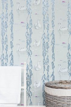 Juliet Travers Ltd - The Albion wallpaper collection will be launching at Decorex '15. The collection has been inspired by animals and nature from around the British Isles [Regal 02]  http://www.juliettravers.com/