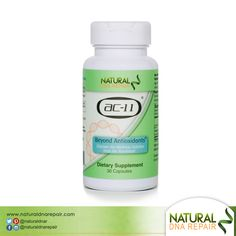 AC-11 activates key cellular enzymes known to repair your #DNA naturally! #naturaldnarepair #Health #AC11