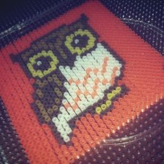 Owl perler beads by shineyee427