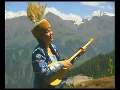 Music of Kazakstan - In this video a woman is singing and playing an instrument that came from Central Asia and is typical in Kazakhstan music.