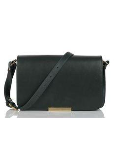 Mini sac cuir Vert by BA & SH