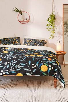 Ilsa Monttinen For Deny Orange Mania Duvet Cover | Urban Outfitters
