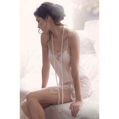 Novum Lingerie von Rena Lange ❤ liked on Polyvore featuring intimates and rena lange