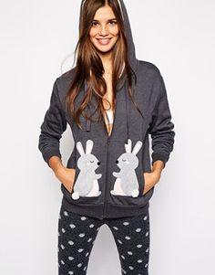 Oysho Bunny Hoodie