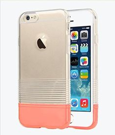 "iPhone 6 Case, Candy Pantone Thin Protective Case for Apple iPhone 6  4.7"" (Pink)"