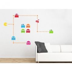 Get Pacman on your wall!