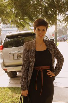 Divina Ejecutiva: Mis looks - Un clásico vestido negro