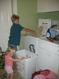 Controlling Craziness: Laundry Tips