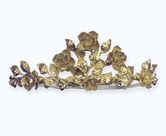 A Gold Tiara By Kern  Christie's