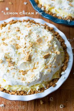 Lemon Cream Pie | Community Post: 25 Lemony Desserts You Need To Make This Spring