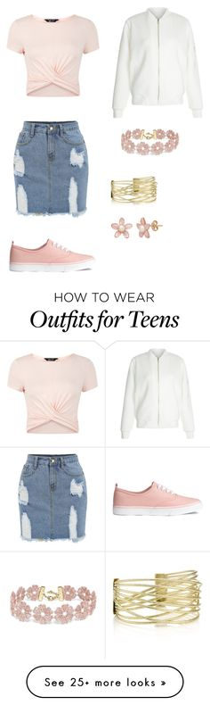 """Outfit 1"" by trashkpop-lookbooks on Polyvore featuring New Look and BaubleBar"