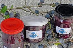 Schlehenmarmelade mit Birnenbegleitung, ein schönes Rezept aus der Kategorie Herbst. Bewertungen: 1. Durchschnitt: Ø 3,3.
