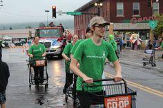 WFC's Shopping Cart Drill Team at Spirit Valley Days 2015