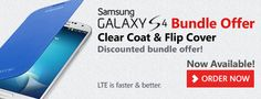 Save 20$ when you Order #Samsung #Galaxy S4 + flip case + Clear Coat from www.saletab.com