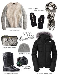 NYC Winter Essentials