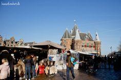 7 Reisetipps für Amsterdam im Januar - Wochenmarkt #reisen #travel #reiselust #holland