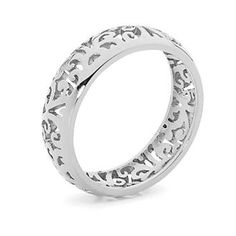 Pastiche Phoenix Stainless Steel Cut Out  Ring
