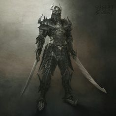 Mabinogi Heroes Armor evil knight