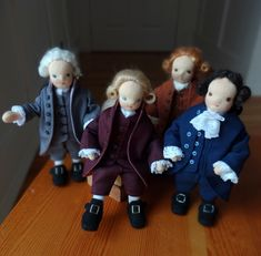 A Dollmaker's Life — Fabric Wool Love Doll Maker, Dollhouse Dolls, Wool, Fabric, Tejido