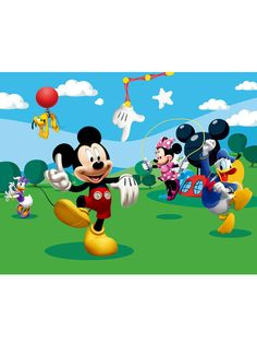 Mickey Mouse & Friends Photo Wall Mural 360 x 254 cm