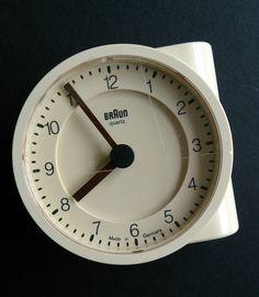 Braun KC Cozinha Relógio Dietrich Lubs Dieter Rams Modernista Design Industrial…