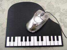♪ grand piano mouse pad. #music #piano #mousepad http://www.pinterest.com/TheHitman14/music-paraphenalia/