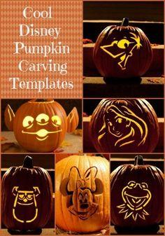 Cool Disney Pumpkin Carving Templates