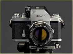 I never was much of a Nikon man! Even so, I am obliged to acknowledge that some Nikon cameras have to be granted the stat. Nikon Film Camera, Nikon F2, Nikon Digital Camera, Dslr Camera Straps, Nikon Cameras, Camera Gear, Antique Cameras, Old Cameras, Vintage Cameras