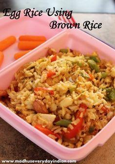 egg brown rice