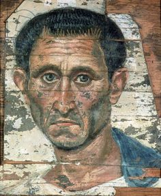 Giclee Print: Portrait of a Middle-Aged Man in a Blue Cloak, Romano-Egyptian Mummy Portrait, Late Century : Egyptian Mummies, Egyptian Art, Ancient Rome, Ancient Art, Art Romain, Art Du Monde, Post Mortem, Art Antique, Roman Art