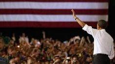 U.S. President Barack Obama waves at the University of Vermont in Burlington