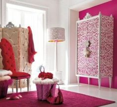 33 Glamorous Bedroom Design Ideas--- they are all so pretty! Would kill for any of them