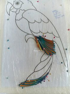 Parrot Papercraft by DarkWolfDesign | My Style | Pinterest ...