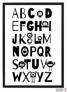 Zoedt Poster Alfabet 1