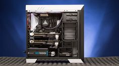 The CybertronPC Titanium is an exceptional value for a high-end, dual-GPU-equipped gaming rig and a good alternative to a home-built project PC. It's ready for 4K and VR gaming out of the box.