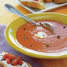 Roasted Red Pepper Soup: $3 per serving from MyRecipes.com