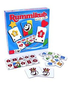 Look at this Pressman Rummikub Start Right Game on #zulily today!