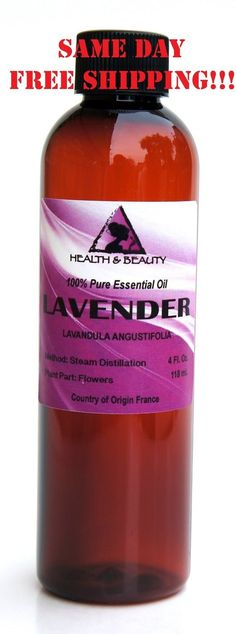 Lavender 100% Pure Aromatherapy Essential OilBotanical Name: Lavandula AngustifoliaPlant Part: FlowersExtraction Method: Steam DistillationOrigin: FrancePackage/Form: 0.6 oz - 2.2 oz: Amber Glass Bottle w/ Euro Dropper or Phenolic Cap.4 oz - 16 oz: Amber Plastic Bottle.Blends well with: Bay, Bergamot, Chamomile, Citronella, Clary Sage, Geranium, Jasmine, Lemon, Mandarin, Orange, Palmarosa, Patchouli, Pine, Thyme, Rosemary, Rosewood and Ylang-Ylang.Aromatic #ToothNervePainRelief Chiropractic Treatment, Chiropractic Care, Vitamins For Nerves, Knee Pain Relief, Nerve Pain, Sciatic Nerve, Amber Glass Bottles, 100 Pure Essential Oils, Natural Herbs