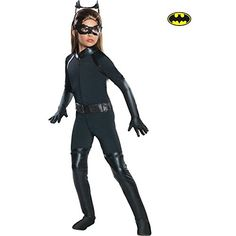 Deluxe Catwoman Costume - Girls *** Learn more by visiting the image link.