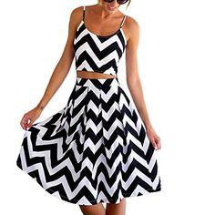 ipretty Sexy Damen Sommerkleid Damen strandkleider damen Kleid Rock Partykleid Cocktaikleid