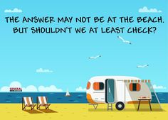 Beach time is always a good time! Where are you escaping winter in your RV? Remember to use our RVillage map to find friends, parks, get togethers & more! #RVing