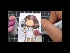 Copic Video - Anya Blooms